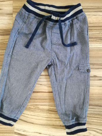 Cienkie jeansy 86