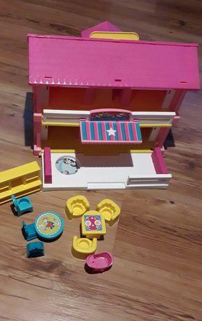 Domek dla lalek + zamki