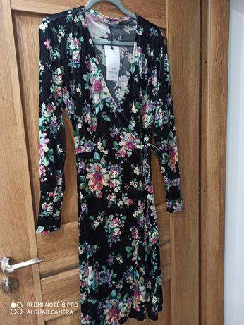 Sukienka Zara nowa rozm M kopertowa