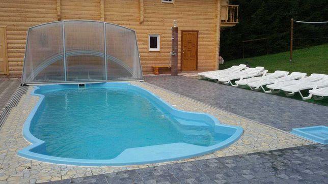 Строительство бассейнов под ключ.