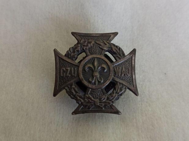 Krzyż harcerski, przypinka