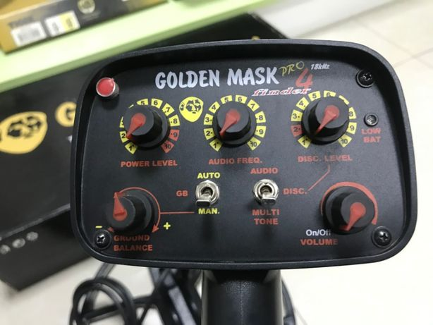 металошукач Golden Mask 4pro