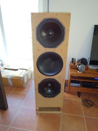 Colunas alto-falantes Cornetas/Horn DIY Self made speakers PHL-Audio