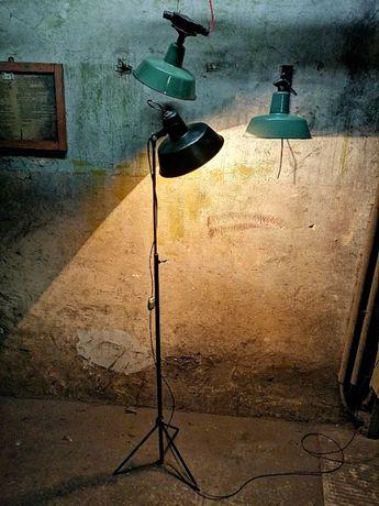 lampa na statywie Industrialna reflektor PRL - OBS-1
