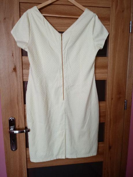 Sukienka cytrynowa