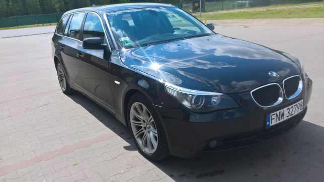 BMW E61 z hakiem
