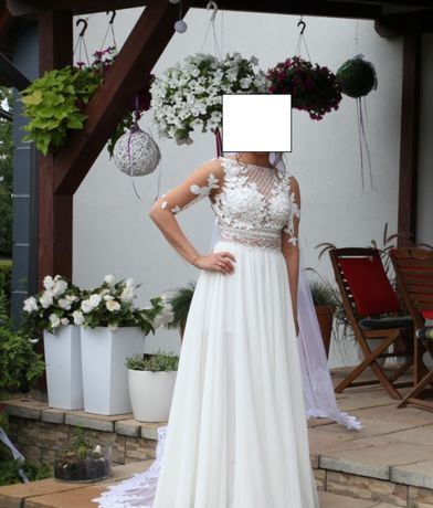 Suknia ślubna rozmiar 34 36