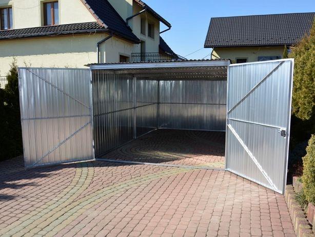 Schowek garaż blaszany garaże blaszane 3x5 PRODUCENT