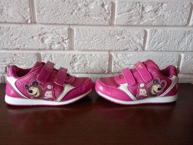 Buty buciki sportowe różowe dla dziewczynki rozm.30 Masha i Niedźwiedź