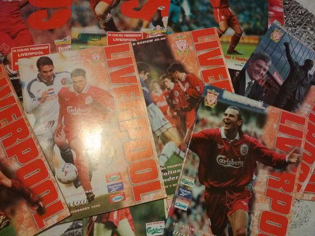 Programy z meczów FC Liverpool