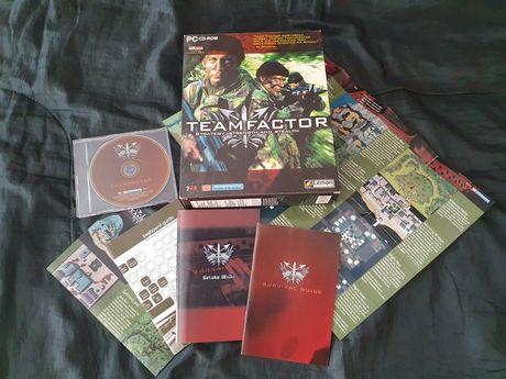 Team Factor Big Box gra PC mapa instrukcja
