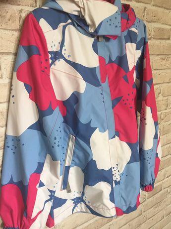 Reima kurtka funkcyjna przeciwdeszczowa dziewczynka 134