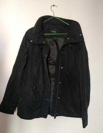 Черная демисезонна курточка