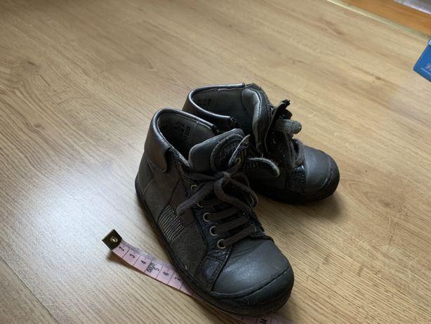 Skorzane buty dziewczece jesien/zima rozmiar 24