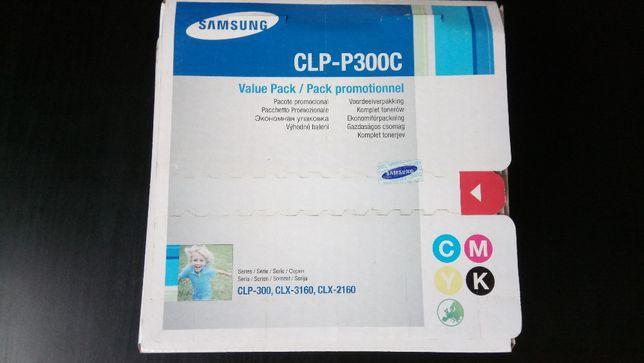 Kit c/ 4 cores Samsung CLP-P300C (NOVO) Original