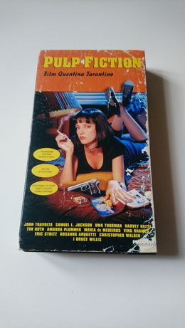 Pulp Fiction kaseta vhs tarantino