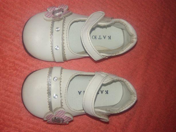 Белые туфли 12,5 см