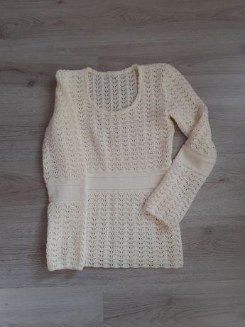Вязанная туника, свитер