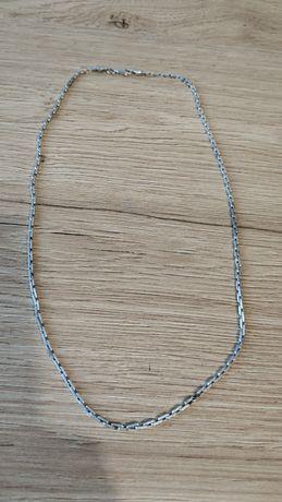 Srebrny łańcuszek -ładny splot pr.925