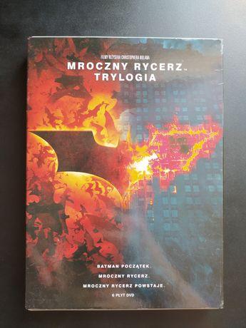 Mroczny Rycerz Trylogia DVD