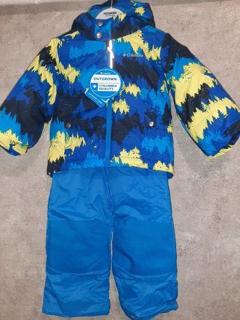 Зимний комбинезон,комплект,костюм Columbia 3Т