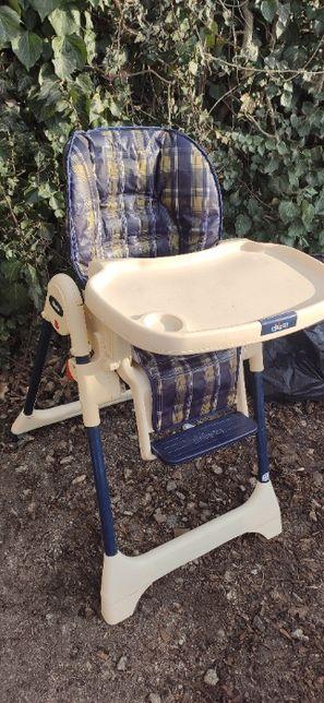 Krzesełko do karmienia chicco wysoki model.