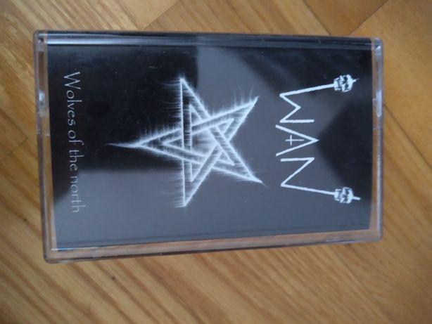 WAN - Wolves of the North - Black metal kaseta