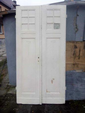 Drzwi dwuskrzydłowe 2.44wys