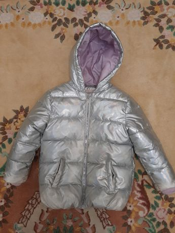 Детская куртка для девочки 4-6 лет