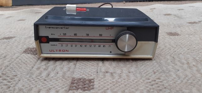 Stary Konwerter odbioru sygnału analogowego ULTRON z RFN WYSYŁAM