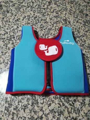 Colete de Natação básico azul(15 a 18 kg) Decathlon