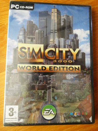 Jogo Sim City 3000 World Edition PC - CD-ROM