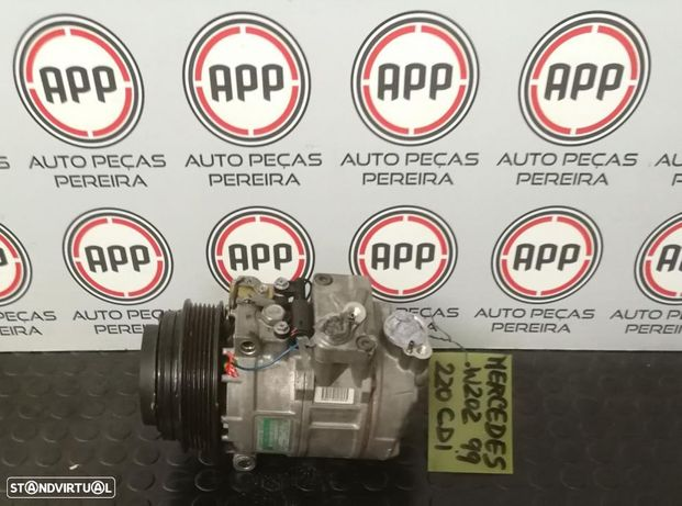 Compressor ar condicionado Mercedes W202 220CDI ref A 000 234 2911.