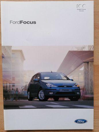 Prospekt Ford Focus mk1 wszystkie wersje wraz z ST170.