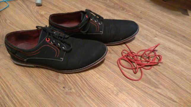 Buty galowe rozmiar 42,5 = 27,5cm