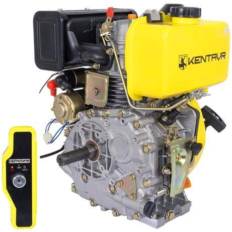 Двигатель Дизельный КЕНТАВР ДВЗ-300ДЕ Электростартер NEW на Шпонке 25м