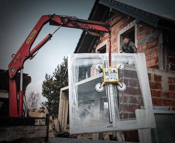 CHWYTAK PRÓŻNIOWY do szkła i okien DS 600 MINI - 350 kg