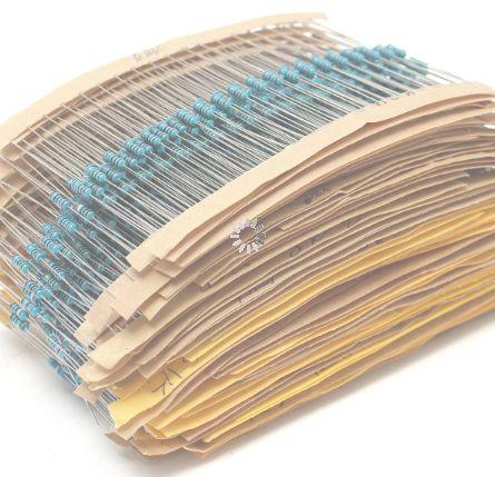 Набор 300 металлопленочных резисторов-70 грн (по 20 шт кажд.номин)