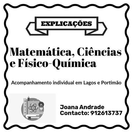 Explicações Matemática, Ciências, Físico-Química