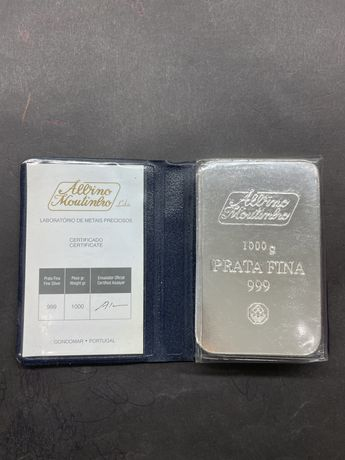 Barra de prata (certificada)