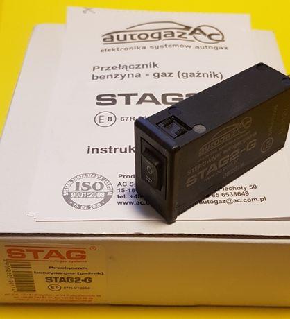 Кнопка переключения STAG газ / бензин карбюратор / инжектор