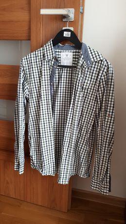 Koszula męska w kratkę Carry rozmiar S