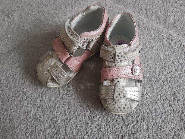 Sandały skórzane zakryte Lasocki 20