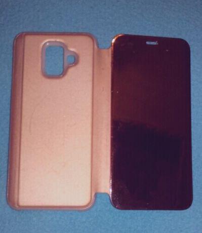 Capa Samsung A6 + proteção do ecrã.
