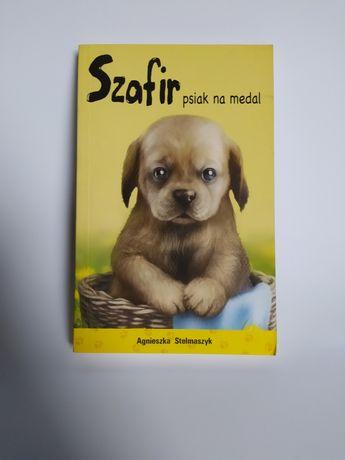 Szafir psiak na medal książka dla dzieci