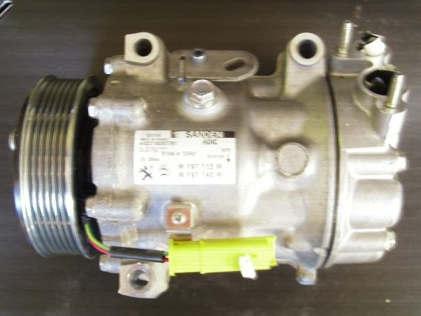 Kompresor, Sprężarka klimatyzacji Peugeot, Citroen