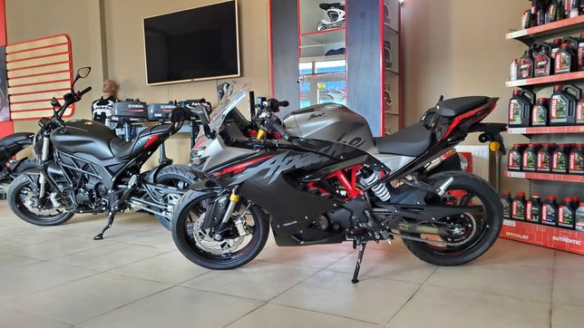 Мотоцикл TVS APACHE RR310 , спортбайк