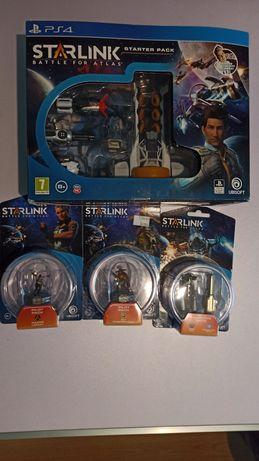 Starlink Battle for Atlas Starter Pack PS4 + piloci + bronie