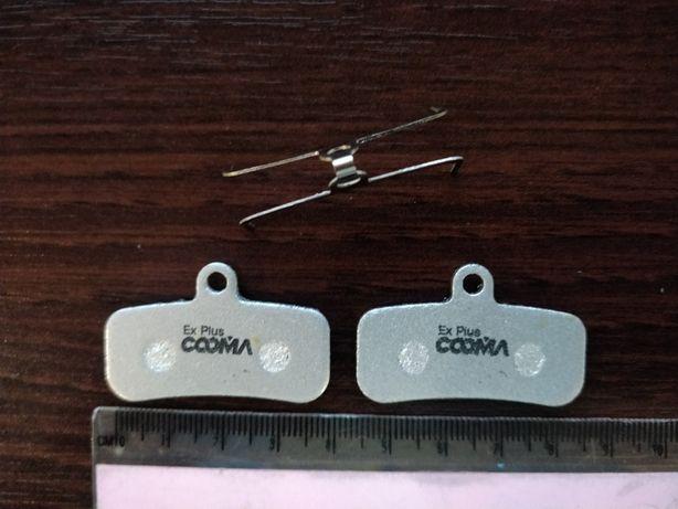 Klocki hamulcowe shimano D02S Ex Plus COOMA
