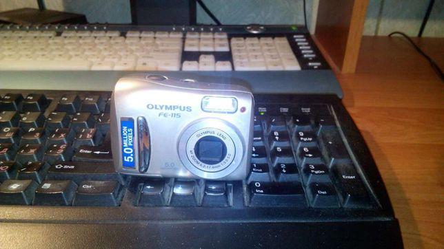 Продам фотоаппарат OLYMPUS FE-115, 5mp, AF zoom 6.2-17.4